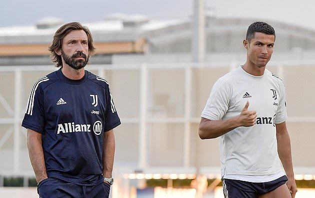 ndrea Pirlo takes first session at Juventus as his squad begin pre-season training just 17 days after last campaign finished - Bóng Đá