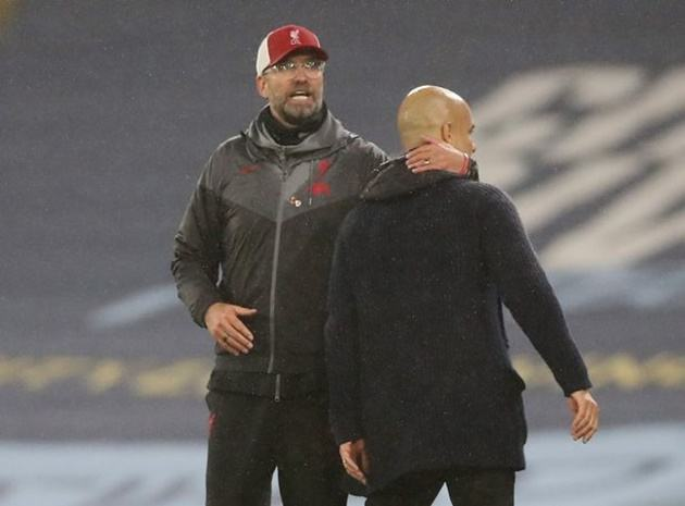 Guardiola reveals the details of his post-match conversation with Klopp as Man City and Liverpool share spoils - Bóng Đá