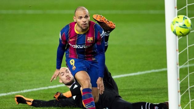 Braithwaite: There's no chance of me leaving Barcelona in this market or at the end of the season - Bóng Đá