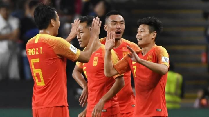 Trung Quốc thắng 7 sao tại vòng loại World Cup
